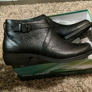 Brand New Black Ankle Boots 12M